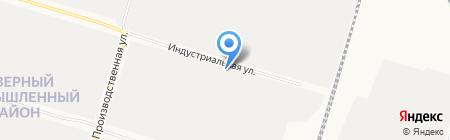 ГЛАВСНАБ на карте Сургута