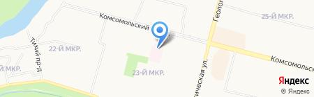 Микрохирургия глаза им. академика С.Н. Федорова на карте Сургута