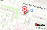 Схема проезда до компании Югорская Строительно-Торговая Компания в Сургуте