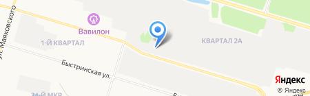 VOLVO CAR СУРГУТ на карте Сургута