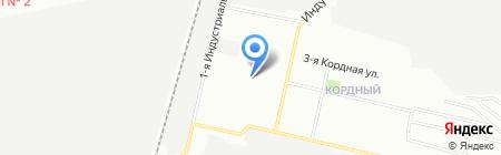 Промсервис на карте Омска
