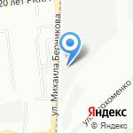 Мебельный двор на карте Омска
