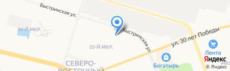 Детский сад №26 на карте Сургута