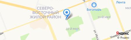 Для Вас на карте Сургута