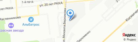 Атлетик Спорт на карте Омска