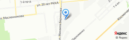 Парфюм-маркет на карте Омска