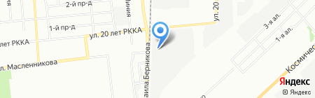 Style на карте Омска
