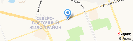 БУкеТИК на карте Сургута