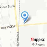 Аленсио-Омск на карте Омска