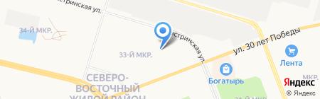 Алекса на карте Сургута