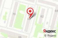 Схема проезда до компании Медиа-Югра в Сургуте
