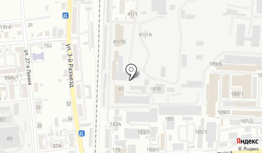 Полимер. Схема проезда в Омске