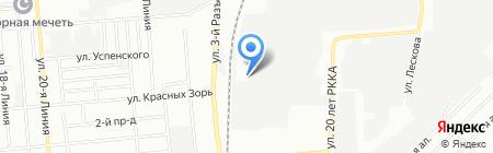 Дельта-Строй на карте Омска