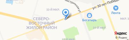 Рыба на карте Сургута