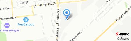 КМ-Сервис на карте Омска