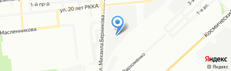 Кундалини на карте Омска