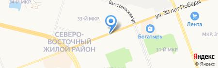 Чудо Печка на карте Сургута