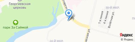 Бар с вами на карте Сургута