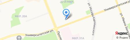 О`Дежон на карте Сургута