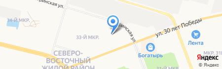 НейроМедСтим на карте Сургута