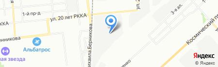 Мир искусственных цветов на карте Омска