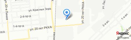 Каштан М на карте Омска