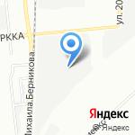 Сеть магазинов одежды и столового белья на карте Омска