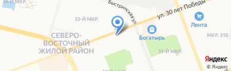 Галерея Керамики на карте Сургута