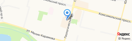 Ювелирный Мир на карте Сургута