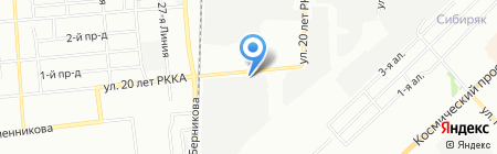 Счастливое детство на карте Омска