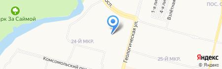 Центральная районная библиотека им. Г.А. Пирожникова на карте Сургута