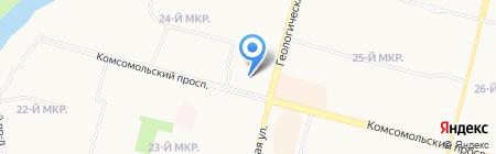 Капитал Медицинское страхование на карте Сургута