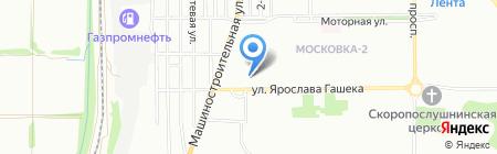 ЖасStar на карте Омска