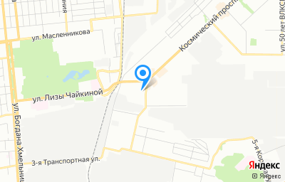 Местоположение на карте пункта техосмотра по адресу г Омск, ул Индустриальная, д 5В, пом 1П