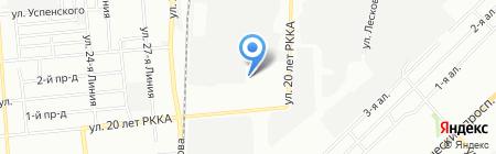 Мануфактура на карте Омска