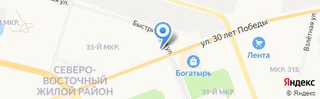 Кроссфит-Сургут на карте Сургута