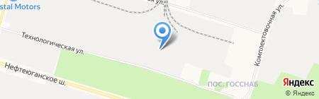 Дружба на карте Сургута