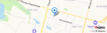 У Коляныча на карте Сургута
