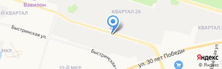 Андрей и КО на карте Сургута