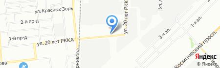 Зооветторг на карте Омска
