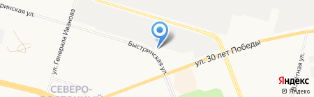 Arctic Cat на карте Сургута