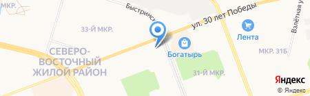 Архитектурная компания на карте Сургута