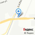 ВИАДУК на карте Омска
