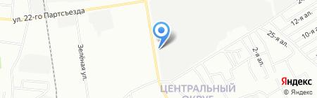ОмскГлавСнаб на карте Омска