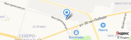 Yamaha на карте Сургута