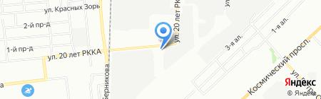 Арконада-Омск на карте Омска