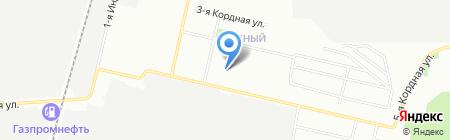 Средняя общеобразовательная школа №27 на карте Омска