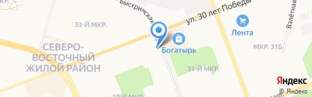Стройуслуга на карте Сургута