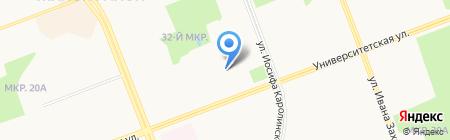 Сибпромстрой №25 на карте Сургута