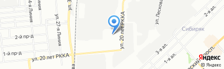 ФудЛогистик на карте Омска